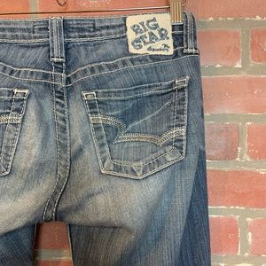 Big Star Remy low rise boot jeans